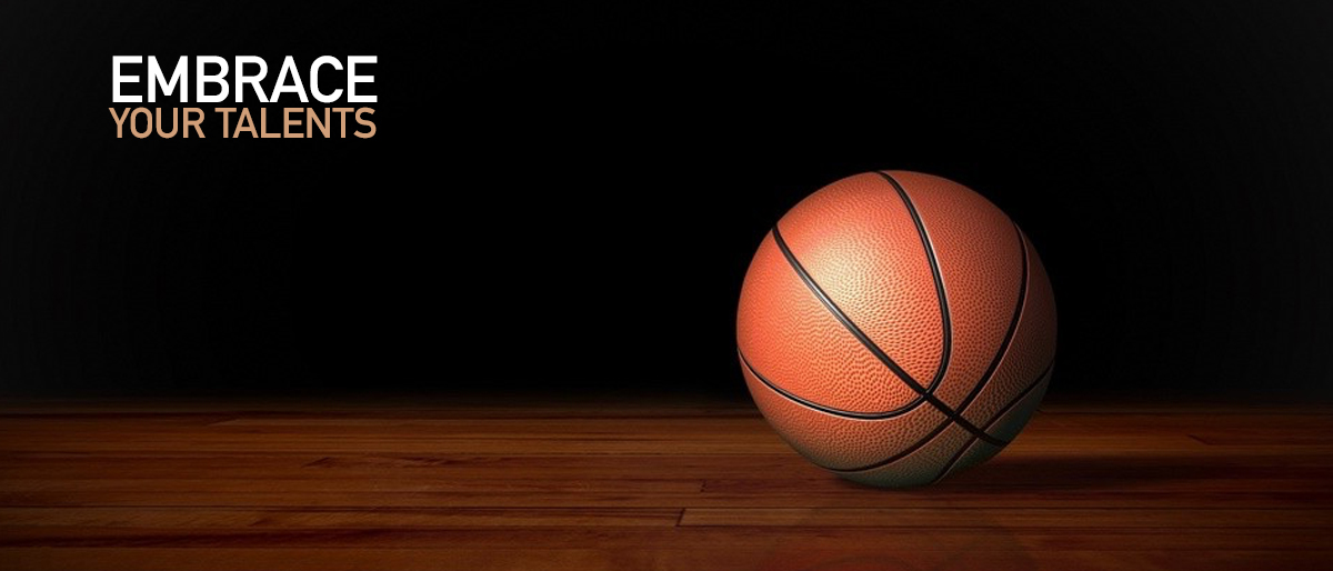 Embrace You Talents represented by a basketball